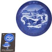 Royal Copenhagen Christmas Plate 1986