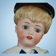 "16"" Simon & Halbig 1078 German boy doll"
