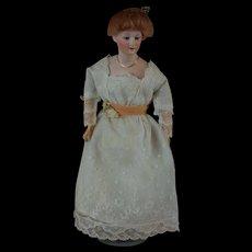 """11"""" German lady doll by Gebruder Heubach"""