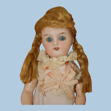 German bisque doll in egg
