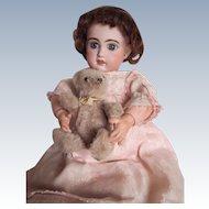 Cheerful  eyed  bebe Jumeau 7  year 1895
