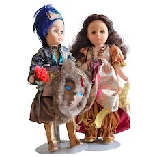 Madame Alexander Beauty and the Beast - Disney from the 1980's, Set of 2