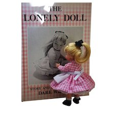 SPRING SALE!!  First Edition Book The Lonely Doll by Dare Wright from 1957