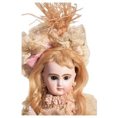 "Darling Angel -  13"" Tete Jumeau in Parisian Couture Costume"