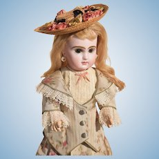 """2-Piece Handmade Dress for 14-15"""" French or German Doll"""