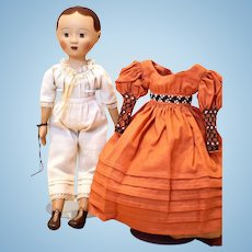 "Izannah Walker ""Inspired"" Doll + Wardrobe, Patterns and DIY Necklace, UFDC Regional"
