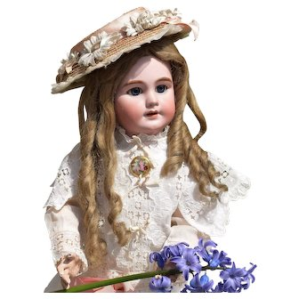 "Angelic Beauty - Jumeau DEP French Bebe as ""Mary of the Secret Garden"""