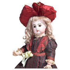 Stunning Rabery & Delphieu Bebe in All Antique Costume - Ready for the Holidays!