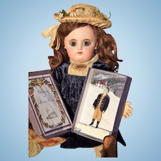 George Washington Doll made for the Letitita Penn Christmas Luncheon by Rosemarie Snyder