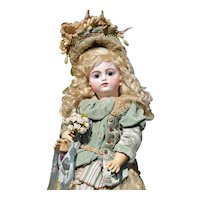 Superb Early Francois Gaultier with Block letter Marking - Antique French Doll