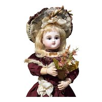 """RARE 16"""" Steiner Fig. B in ALL-ANTIQUE Costume - A Darling!"""