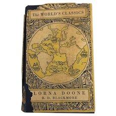 Vintage Hardback Classic Lorna Doone By B.A. Blackamore Oxford Press # 171 Circa 1896