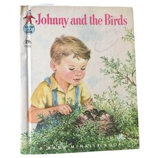 """Rand McNally Early Reader's  """"Johnny And The Birds"""" By Ian Munn C. 1950 - Red Tag Sale Item"""