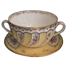Decorative Helena Wolfsohn Dresden Demitasse Set