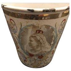 19th Century Queen Victoria Coronation Cup