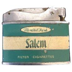 Vintage Japanese Modera Superior Quality Salem Cigarette Lighter C.1970