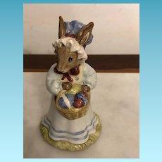 """Vintage Royal Doulton Tableware """"Mrs. Bunnykins at the Easter Parade""""  DB # 19 Circa 1982"""
