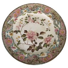 Late 18th century Stoke Hand painted English Charger Plate