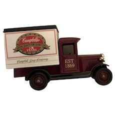 Vintage English Lledo Model Campbell's Soup 125th Anniversary Delivery Vehicle