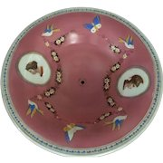 19th Century French Hand painted Decorative Bowl