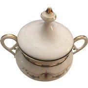 Early 19th Century Konigliche Porzellan Manufaktur Old Berlin KPM Germany  Sugar Bowl