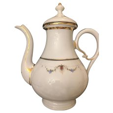 Early 19th Century Konigliche Porzellan Manufaktur Old Berlin  KPM Germany  Tea Pitcher