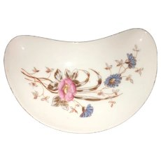 Early 20th Century Czech Marx Gutherz Carlsbad Hand Painted Serving Dish