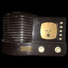Vintage Retro Crosley  CR-1 Collectors Edition AM/FM Radio  with Cassette Player