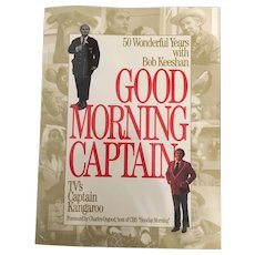 Vintage Soft Cover Good Morning Captain Kangaroo