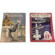 A Pair of World War One Era  American Sheet Music Song Books