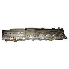Vintage American Diecast Tootsie Pennsylvania Locomotive Train