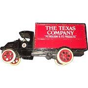 Vintage 1925 Texaco Mack Bulldog Lubricant Truck Toy Bank  Replica by Ertl  Circa 1988