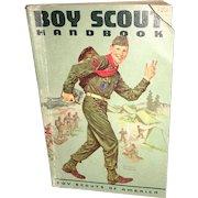 Vintage Americana Boy Scout Handbook Sixth Edition Circa 1960