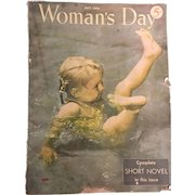 Vintage Woman's Day Magazine July 1948 Issue