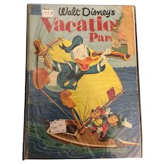 Early American Dell  Comic Package Walt Disney's  Circa 1953-1955