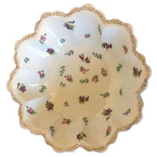 Austrian O& E Gutherz Royal China Decorative Fruit Bowl Circa 1905