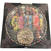 Vintage Beatles Sargent Peppers Lonely Hearts unsealed Vinyl Record Circa 1978