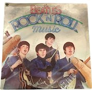 The Beatles Rock & Roll Music 2-Record Set by Capitol Records circa 1978