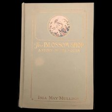 Early American Civil War Era Hardback Blossom Shop Story Of the South