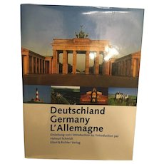 Historical Hardback of Post Reunification of Germany Economy & Culture