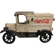 Vintage Cast Iron Coca Cola Collectible Delivery Truck Circa 1972