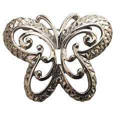 Costume vintage Butterfly Pin circa 1960