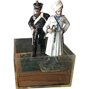 Vintage and Rare Russian Custom Cast Metal Figurines Imports Circa 1992