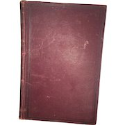 """Turn of the Century Hard Cover """"The Life and Character Of Stephen Girard"""" By Henry Attlee Ingram Circa 1896"""
