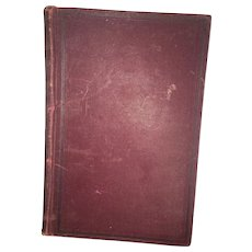 "Turn of the Century Hard Cover ""The Life and Character Of Stephen Girard"" By Henry Attlee Ingram Circa 1896"