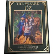 "Vintage Hard Cover Colorful Illustration ""The Wizard Of Oz""By L. Frank Baum Unicorn Publishing Co. 1985"