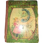 Vintage Hardback  Alice In Wonderland by Lewis Carrol Circa 1900's