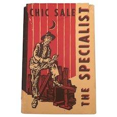 Classic  Americana The Specialist Charles Sale Hardback Circa 1929