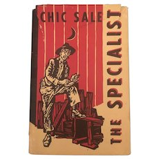 Classic  Americana The Specialist Charles Sale Hardback Circa 1929