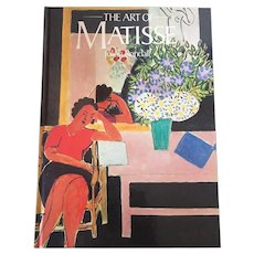 Art Of Matisse By Julian Rendall Hardcover Textbook Circa 1982